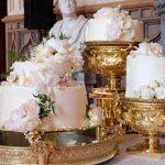 Cobertura de Buttercream nos bolos de casamento toma o lugar da pasta americana. À tendência!