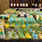 Padaria aproveita 'febre' da Copa para colorir produtos e aumentar suas vendas