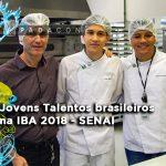 Senai | Jovens Talentos Brasileiros na IBA 2018