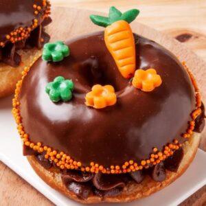 Donuts Cenoura com Chocolate