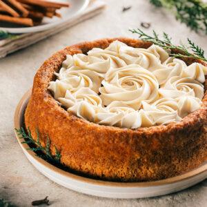 Carrot Cake com Ganache de Champagne