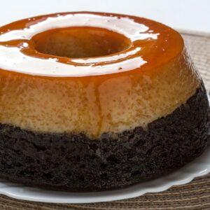 Receita Pudim Cake