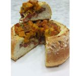 Pão de Abóbora Folhado