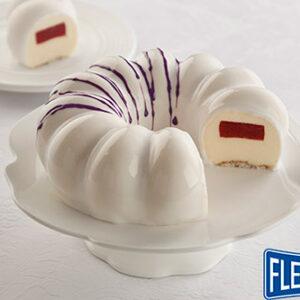 Receita Torta Gelada de Morango e Cream Cheese