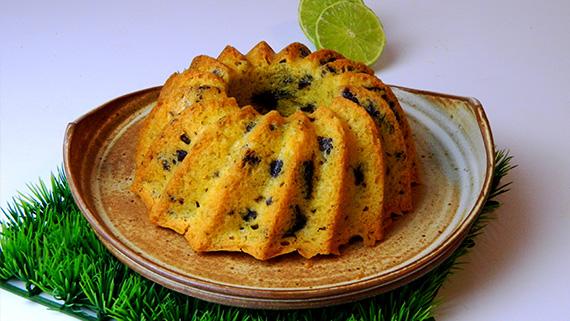 Receita Cake de limão e chocolate