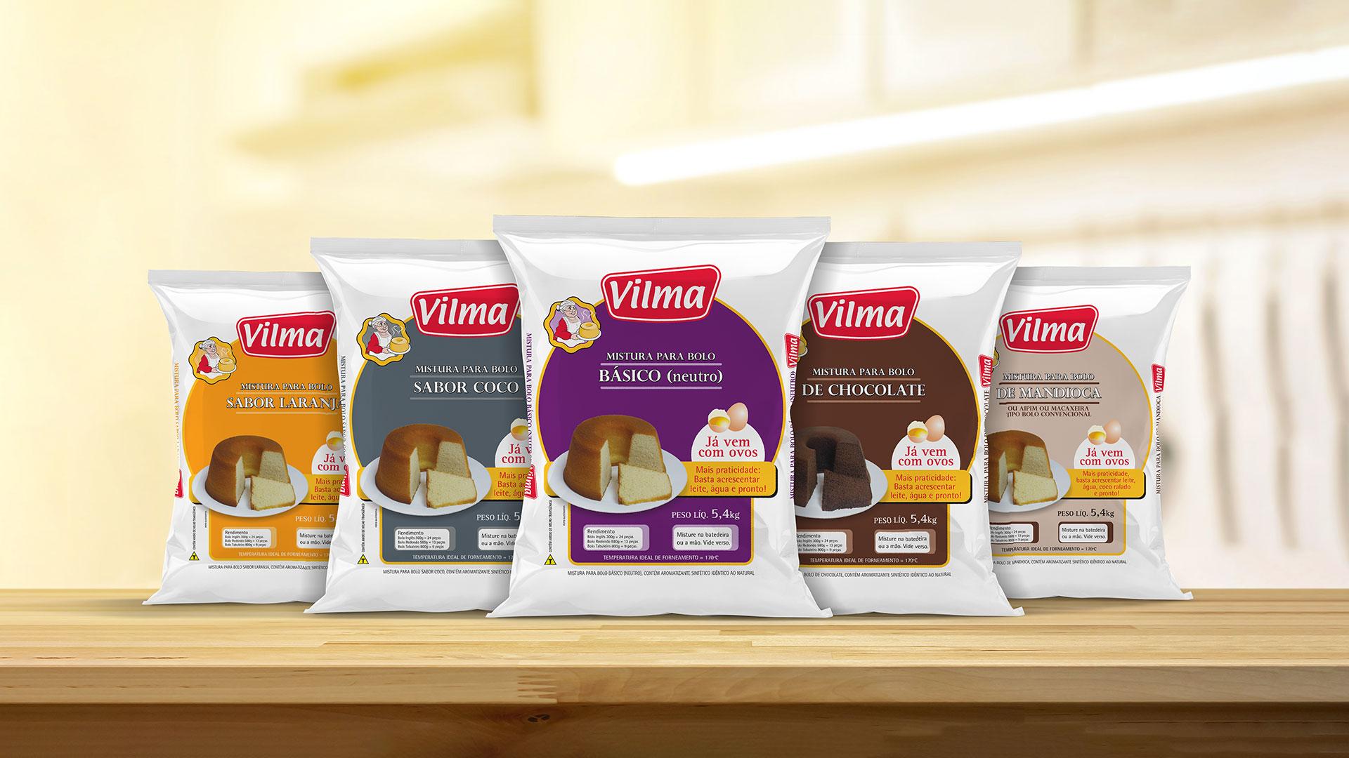 Vilma Alimentos lança mistura para bolo com ovos para o Food Service