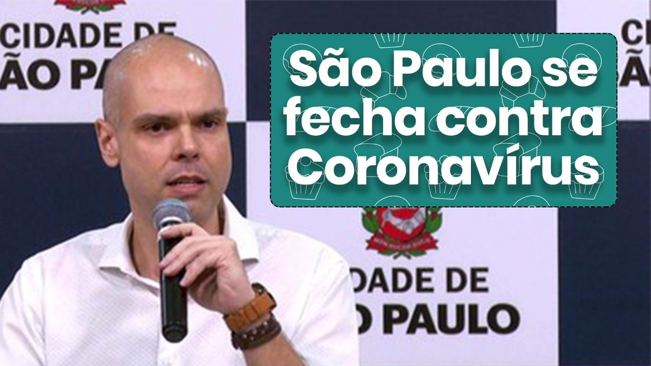 São Paulo se fecha contra Coronavirus