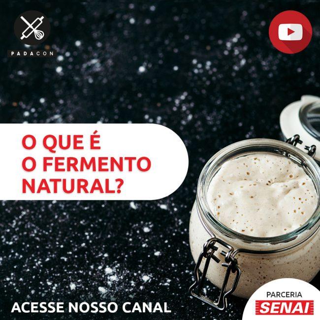 O que é fermento natural